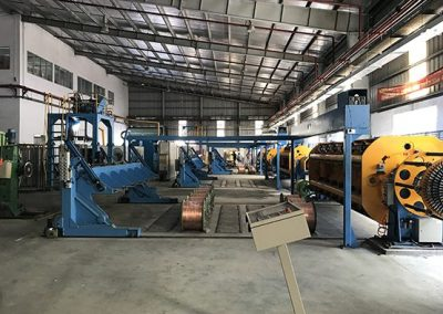 Installing 61-thread twisting machine system at Cadivi Tan Phu Trung Factory