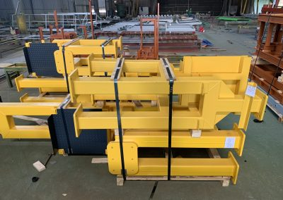Fabrication of mechanical components and steel structures